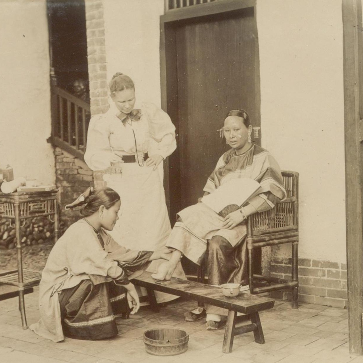 footbinding essay 103 years after foot binding was banned in china, a few women still live with the severe deformity it caused the photographer jo farrell tracked down 50 of them.